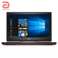 Laptop Dell Inspiron 7000 series 7567A -P65F001-TI78504W10 (Black)- Màn hình FullHD, IPS