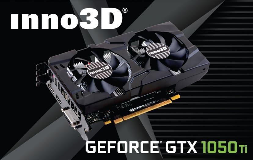 Card đồ họa Innovision GeForce GTX1050 Ti Twin X2 4G