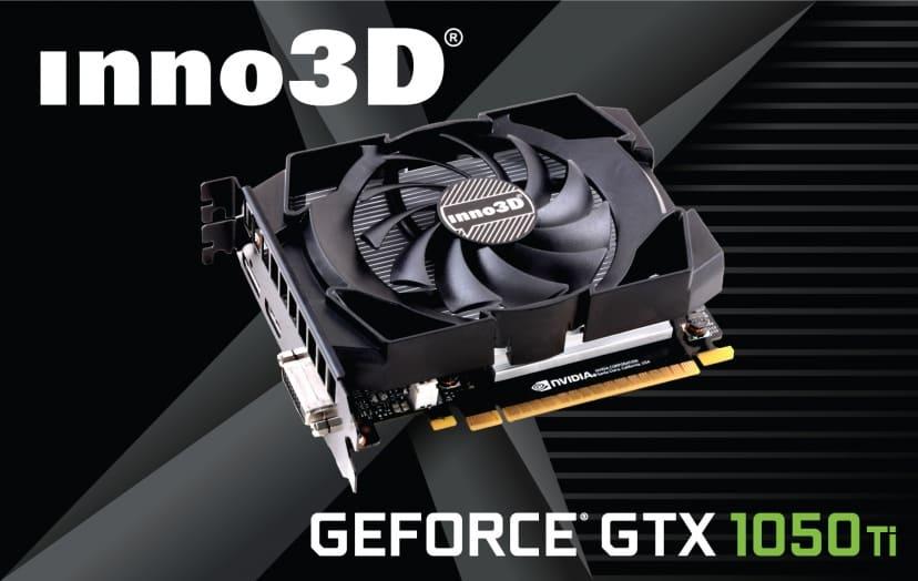 Card màn hình Inno3D GTX1050Ti Compact 4G