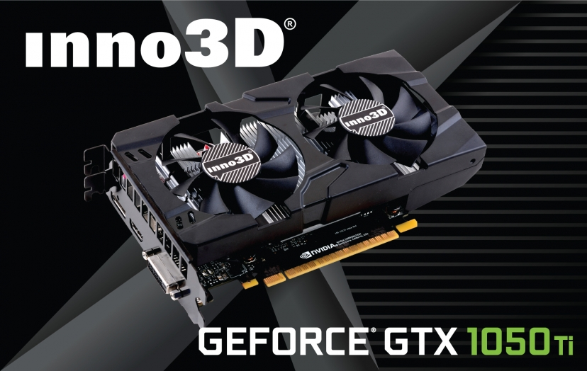 Inno3D GTX1050 Twin 2G (NVIDIA Geforce/ 2Gb/ DDR5/ 128Bit)