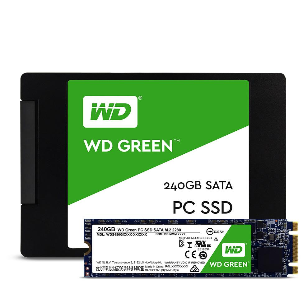 Ổ SSD Western Green 240Gb M2.2280