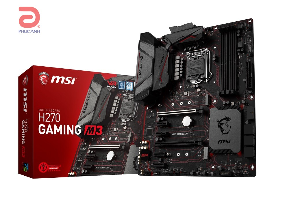 Main MSI H270 GAMING M3 (Chipset Intel H270/ Socket LGA1151/ VGA onboard)