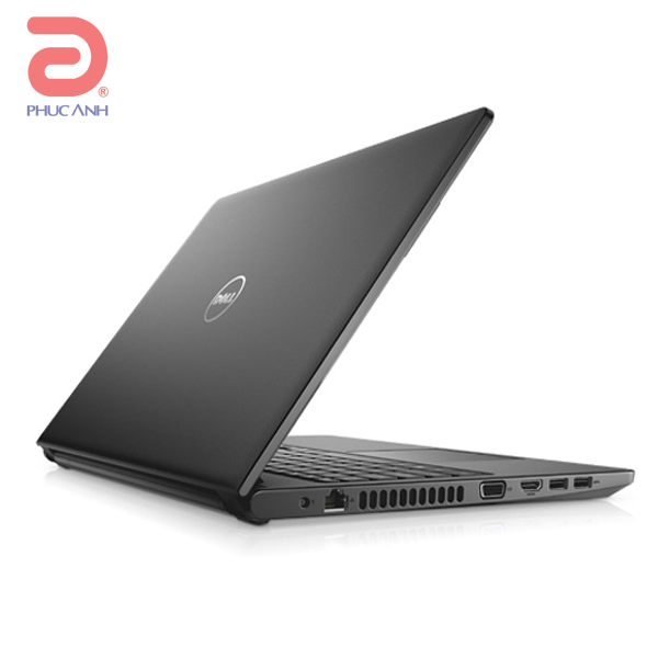 Laptop Dell Vostro V3568A-P66F001/P63F002-TI54102 (Black)