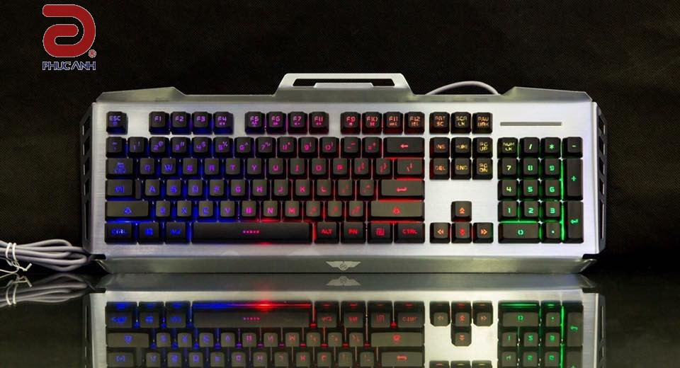 Bàn phím bán Cơ Newmen GM816 Gaming
