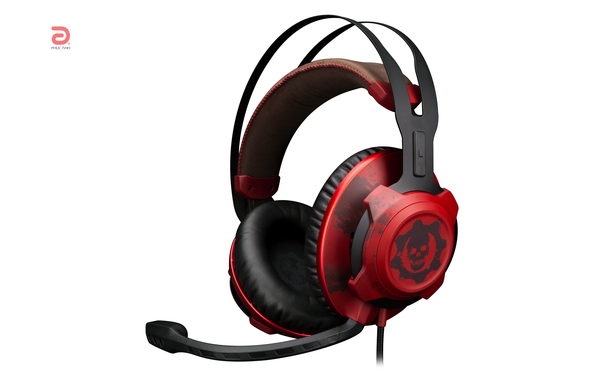 Tai nghe Kingston HYPERX CLOUD X REVOLVER GEARS of WAR (HX-HSCRXGW-RD) (RED)