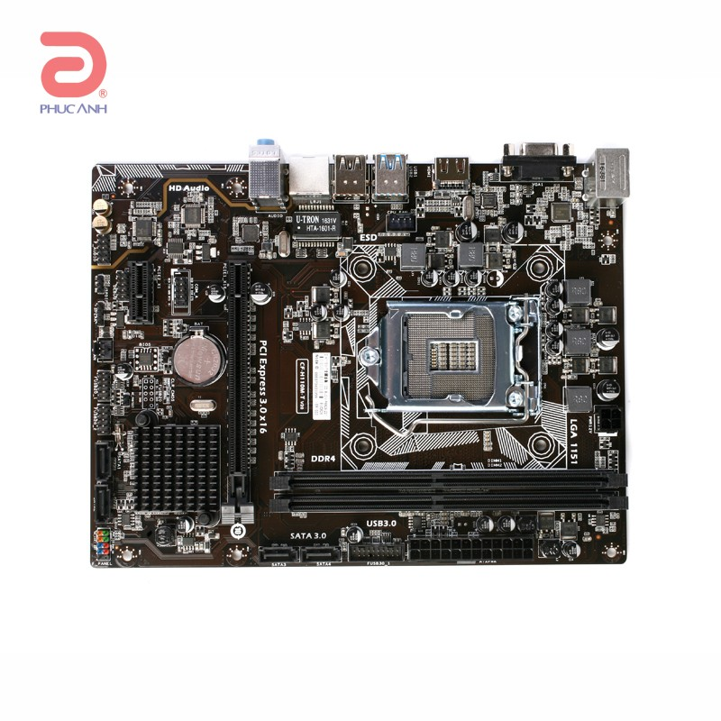 Colorful H110M T Plus V20 Chipset Intel H110 Socket LGA1151 VGA onboard