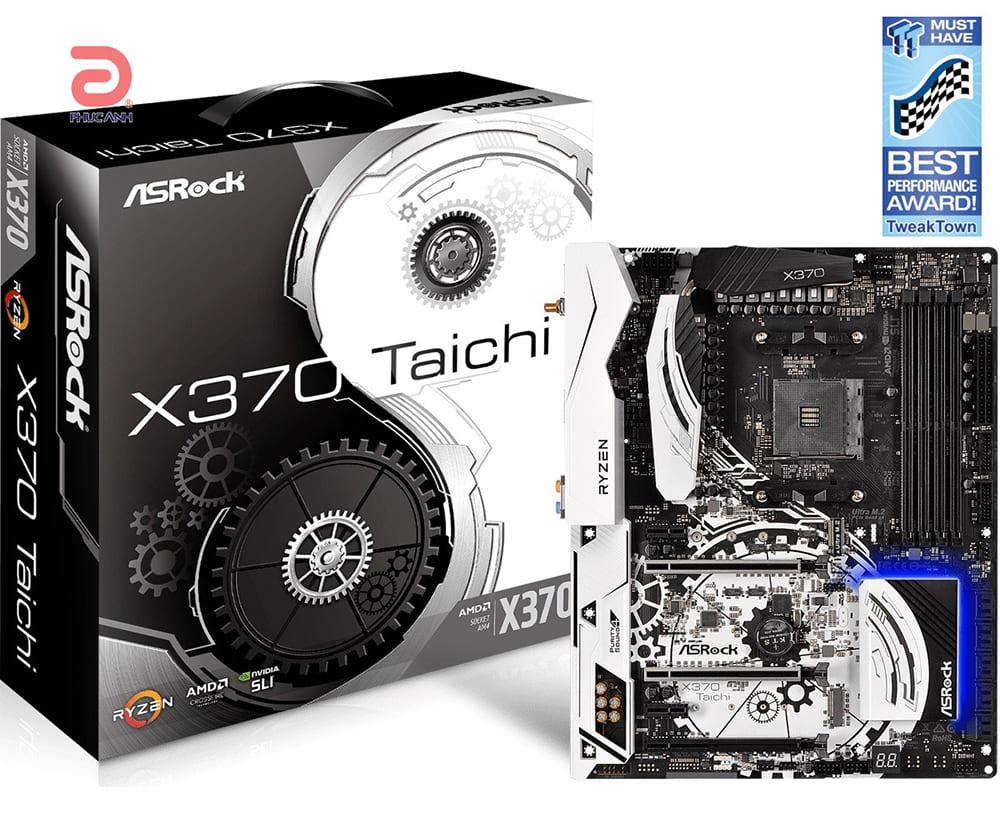 Mainboard Asrock X370 Taichi Chipset AMD X370 Socket AM4 VGA None