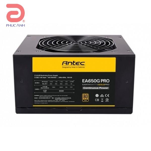 Nguô n Antec EA650G PRO 650W 80 Plus Gold