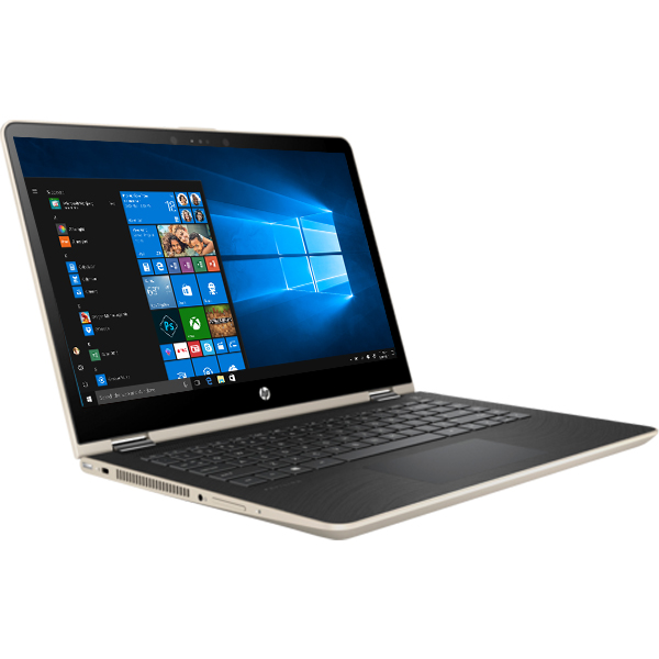 Laptop HP Pavilion x360 14-ba063TU 2GV25PA (Gold)