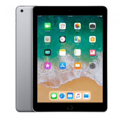 "Apple iPad 9.7"" (2018) Cellular 4G (Silver)-32Gb/ 9.7Inch/Cellular"